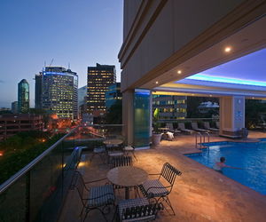 Brisbane Marriott Hotel - Pool deck
